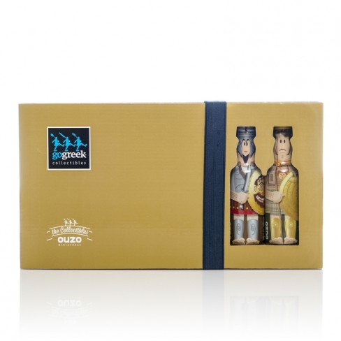 Oh..my Heroes!  gogreek® Ouzo Miniature Collectors' Case Oh..my Heroes!