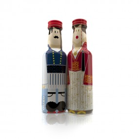 Evzonas & Amalia gogreek® Οuzo Miniatures (2x50ml)