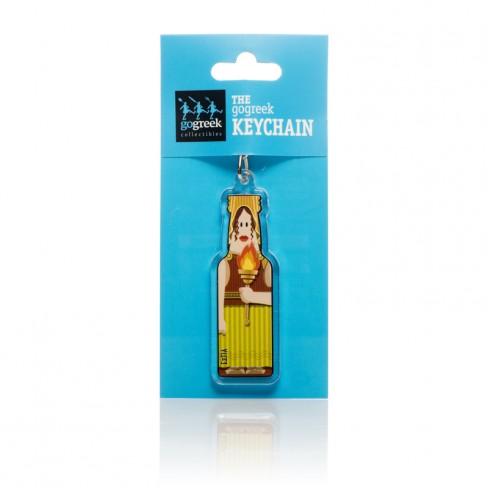 Hestia gogreek® Keychain Oh..my Gods!