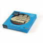 Wooden Vessels gogreek® Coaster (Set of 12 pcs) - Available in Greek and English Traditional Wooden Boats