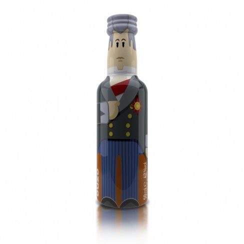 Kapodistrias gogreek® Οuzo Miniature 50ml The Shop