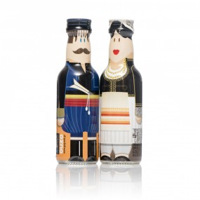 Crete Couple gogreek® Οuzo Miniatures (2x50ml)