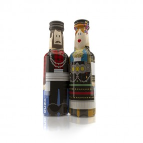 Macedonia Couple gogreek® Οuzo Miniatures (2x50ml)